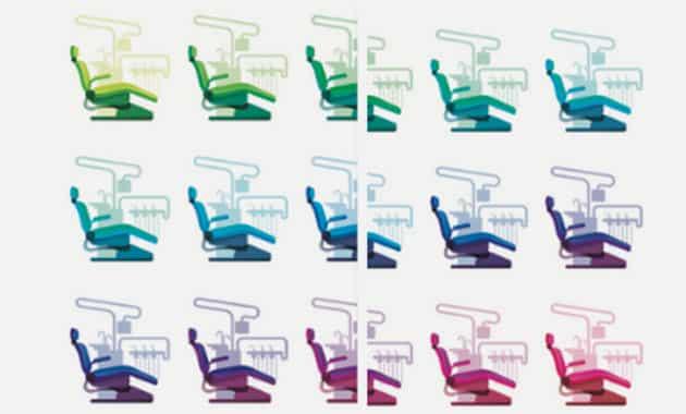 fauteuil dentaire mosaïque