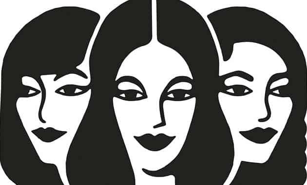 dessin de trois soeurs