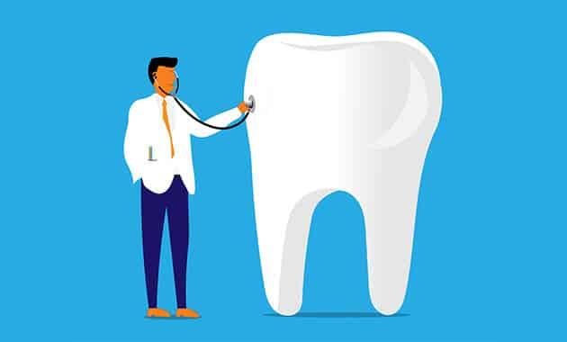 Dessin de dentiste